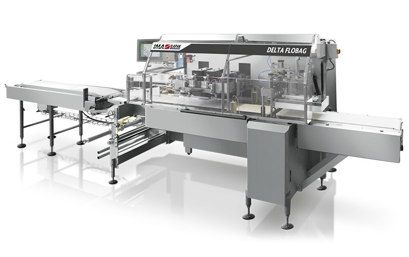 Ima Ilapak Delta Flobag horizontal flow wrap form fill and seal flow wrapper packaging machine for bakery